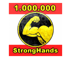 1.000.000 de moedas StrongHands (um milhão). entrega rápida (igual bitcoin dogecoin litecoin iota)