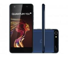 Smartphone Quantum You Light 32GB Azul Dual Chip - 4G Câm. 13MP + Frontal 8MP 5