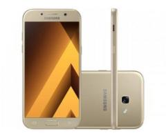 Smartphone Samsung Galaxy A5 2017 32GB Dourado - Dual Chip 4G Câm. 16MP + Selfie 16MP Tela 5.2