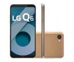 Smartphone LG Q6 32GB Rose Gold Dual Chip 4G - Câm. 13MP + Selfie 5MP Tela 5,5