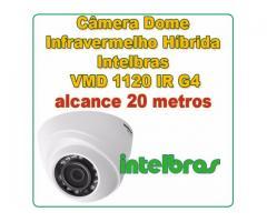 Câmera de Segurança Intelbras 20 metros VMD 1120 G4