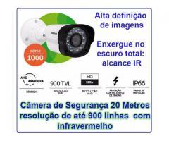Câmera de Segurança Intelbras alcance 20 metros
