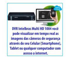 DVR Stand Alone Multi HD Intelbras MHDX-1004 - 4 Canais (LANÇAMENTO) - Acesso remoto
