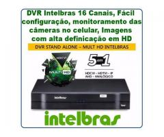DVR Stand Alone Multi HD Intelbras MHDX-1016