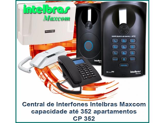 Central Portaria CP 352 - Maxcom Intelbras 352 ramais