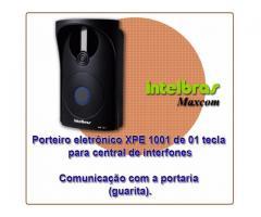 Porteiro eletrônico dedicado à central COMUNIC 48 | XPE 48 | Intelbras