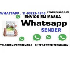 Sistema Marketing Whatsapp Envios 2020