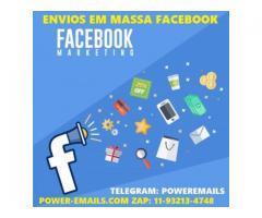 Sistema Facebook Envios Em Massa Grupos e Inbox 2020