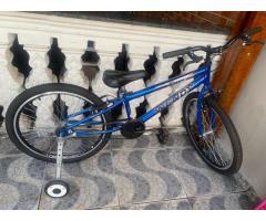 Bicicleta Tiger Wendy Aro 24 Adaptado C/ Rodinhas + suporte para carro