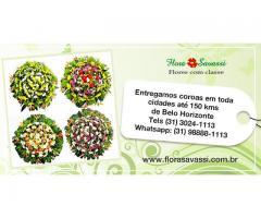 Cláudio Pitangui, Paraopeba, Raposos, Mário Campos, Itaguara MG, floricultura coroa de flores FLORA