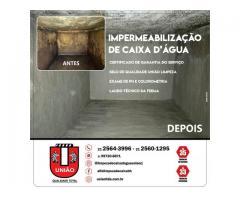 Impermeabilização de caixas de água e cisternas no Rio de Janeiro