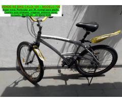 Vende acessorios motos/bicicletas usadas - particular