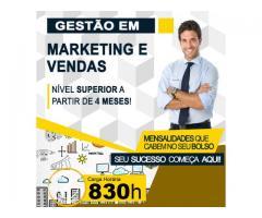 Curso Superior em Gestão de Marketing e Vendas